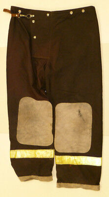 42x30 Firefighter Pants Bunker Turnout Fire Gear - Quaker Fire Wear P853