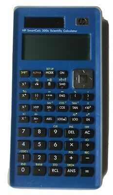 HP SmartCalc 300s Scientific Calculator Blue Solar