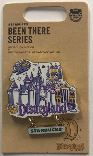 Disneyland Attractions 2021 Starbucks Been There Series LR Disney dangle Pin