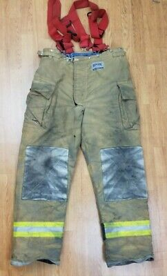 Morning Pride Ranger Firefighter Bunker Turnout Pants 42 X 35 10
