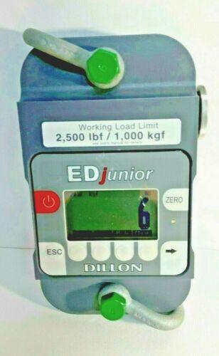 DILLON EDjunior-1T  Dynamometer 2,500lb x 2lb
