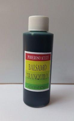 ACEITE BALSAMO TRANQUILO PURO 4oz OIL CALMING BALM SANTERIA  BUY 2 GET 1 FREE !