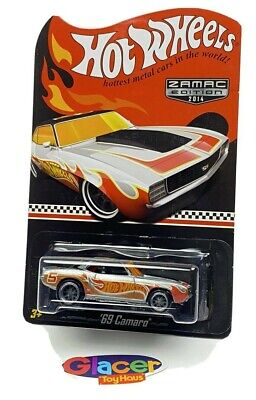 2014 Hot Wheels '69 CAMARO COLLECTOR EDITION ZAMAC Wal-Mart Mail-In Exclusive!