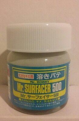 Gunze Sangyo /Mr Surfacer 500 primer, 40ml