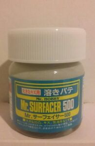 Gunze Sangyo /Mr Surfacer 500 primer, 40ml