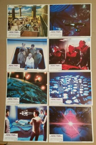 STAR TREK THE MOTION PICTURE 1979 COMPLETE 11x14 Lobby Card Set of 8 MINT 790177