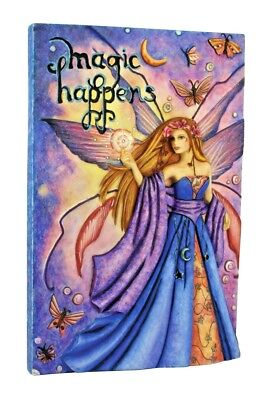 Jessica Galbreth Magic Happens Wall Art Plaque Sign Fairy Faery Room Decor
