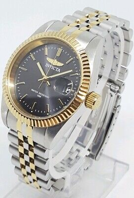 Invicta Specialty 32135 Unisex 36mm Two Tone S/Steel Watch  **SHIPS FREE**
