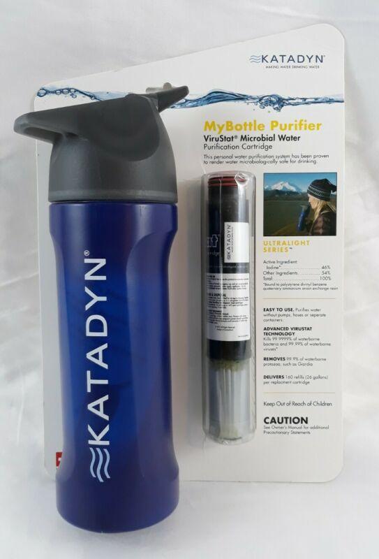 Katadyn MyBottle Water Purifier MicroFilter Bottle Purification Ultralight