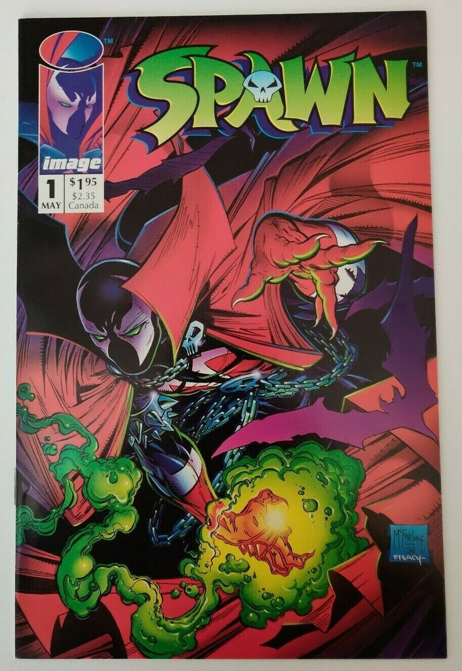 Spawn 1 First Print High Grade Copies Unread 1st Appearance of Spawn