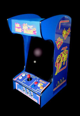 Ms Pacman plus 60 other games Tabletop/ Bartop Arcade New