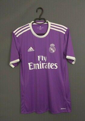Real Madrid Jersey 2016 2017 Away SMALL Shirt Soccer Adidas AI5158 ig93 image