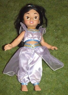Playmates Disney Princess Jasmine Toddler Doll in purple costume - Purple Princess Jasmine Costume