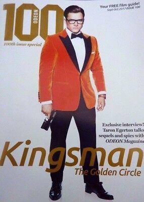 "KINGSMAN ,The Golden Circle, PROMOTIONAL BADGE .1 ¼ """
