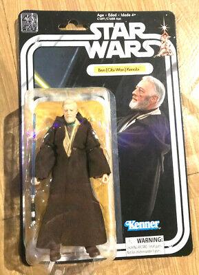 Obi Wan Kenobi Star Wars Black Series Figure 6 Hasbro 40th Retro Classic Vintage