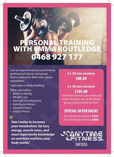 DISCOUNTED Personal Training Packs Success Cockburn Area Preview