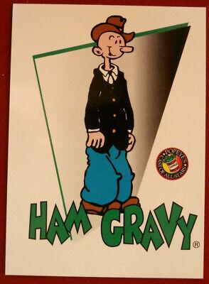 POPEYE - Individual Card #10 - Ham Gravy - Card Creations - 1994
