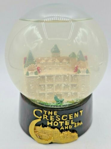 Antique Snow Globe The Crescent Hotel And Spa Eureka Springs AR Haunted Hotel