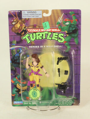 Teenage Mutant Ninja Turtle TMNT April O'Neil She Back & Better 1995 82 Back