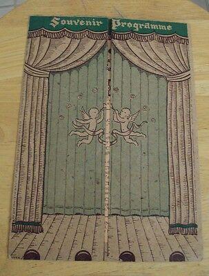 "VTG 1944 Souvenir Program~""THE DRUNKARD""~Theatre Mart~Hollywood~FAMOUS~"