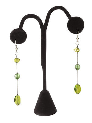 12 Earring Tree Black Velvet Displays 5 Showcase Pierced Stand Retail