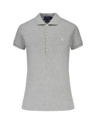 Original Ralph Lauren Polo Shirt Damen - Custom Fit -  Tshirt rot, grau, grün (Ralph Lauren Kleider Für Frauen)