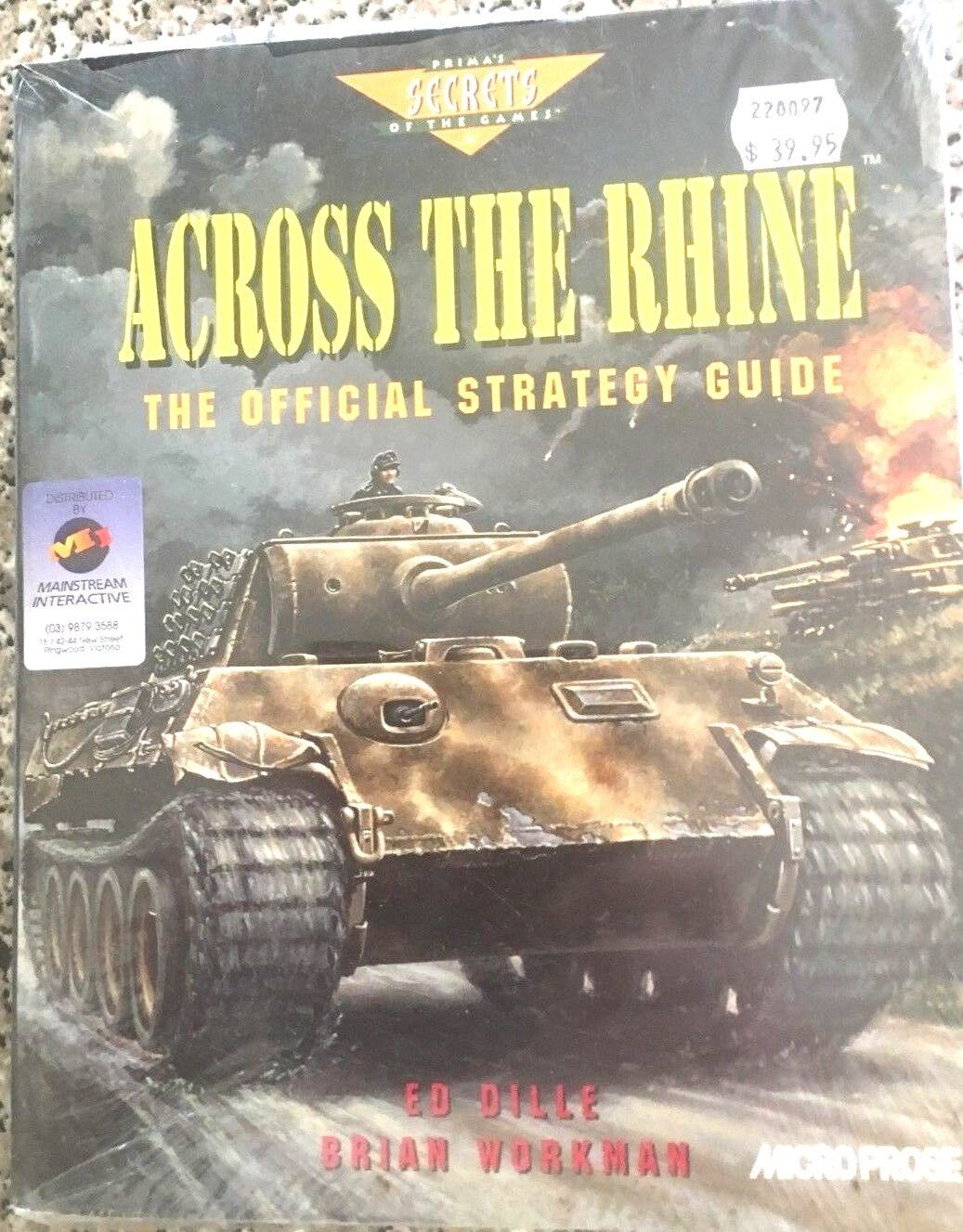 Across the Rhine - The Official Strategy Guide de Ed Dille