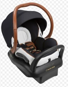 Rachel Zoe Car seat with leather wrap handle