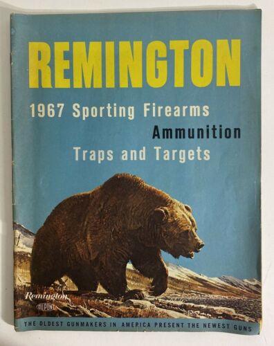 Vintage Remington 1967 Firearms Full Line Catalog Original Sporting Hunting 60s