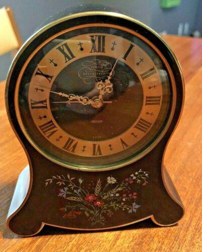 Vintage Jaeger Petite Neuchateloise Swiss Music Alarm Clock 50