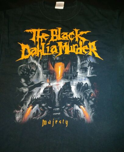 The black dahlia murder L t shirt majesty cannibal corpse cattle decapitation