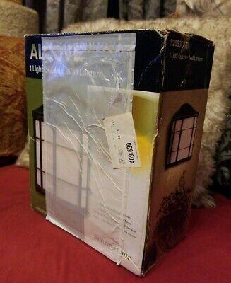 Kenroy Home 92053ORB Alcove 1 Light Outdoor Lantern Brand New in Box! Bronze
