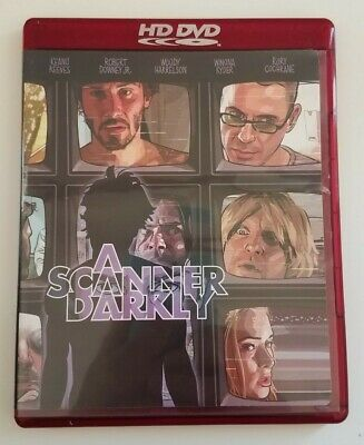 A Scanner Darkly - Keanu Reeves, Woody Harrelson, Robert Downey Jr. - HD DVD