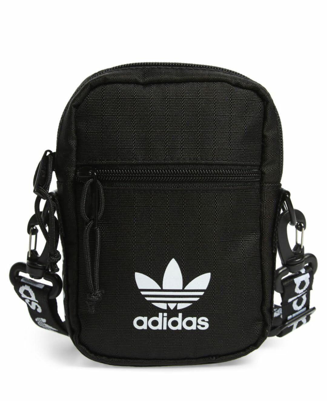 adidas Originals Festival Crossbody Bag Black One Size Mini