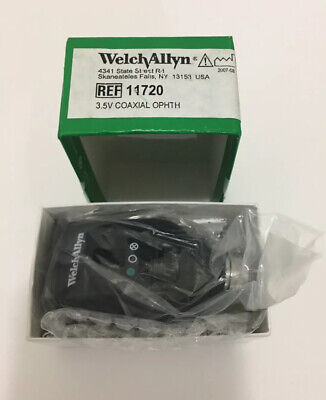 Welch Allyn 3.5v Coaxial Ophthalmoscope Model 11720 --- New