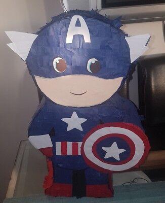 pinata captain America  avengers