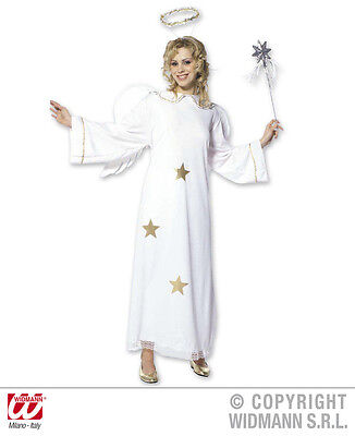 Verkleidung Kostüme (S3511 Star Engel Kostüm Erwachsene Weihnachten Engelkostüm Verkleidung Engel)