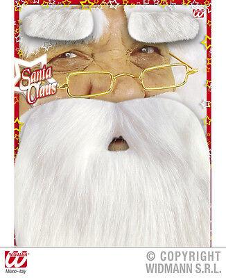 NIkolaus-Bart Weihnachtsmannkostüm * Bart & Augenbrauen