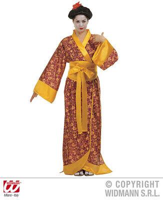 Geisha - Japanerin Kimono Kostüm Kyoto Gr. M Kyoto Kimono - Kimono Japanischen Kostüm