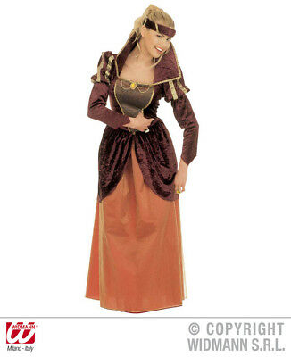 WIDMANN Costume vestito regina medievale carnevale donna adulto mod. 3513_