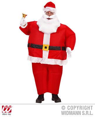 Aufblasbares Weihnachtsmann Kostüm Nikolaus - - Luft Mann Kostüm