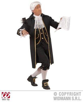 Kostüm Barock 3tlg Gehrock Hose Jabot, Edelmann Mittelalter Rokoko Prinz Adel