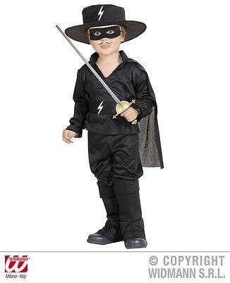 5 tlg. Komplett Kostüm Kleiner maskierter Bandit, Kinder - Maskierte Kostüme
