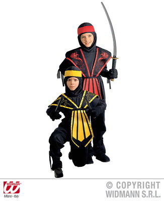 Kostüm Ninja Kinder Samura Krieger Gr.128 cm  Ninja Kostüme