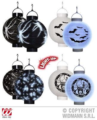 LED Halloween Laterne Lampion, Spinne, Skelett, Fledermaus, - Led-halloween