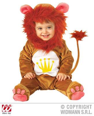 Kinderkostüm Löwe Löwenkostüm Baby Babylöwe 90 - Löwe Kostüm Baby