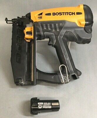Bostitch 3.6v 16-gauge 2-12 Straight Finish Nailer Gfn1664k Tool W Battery