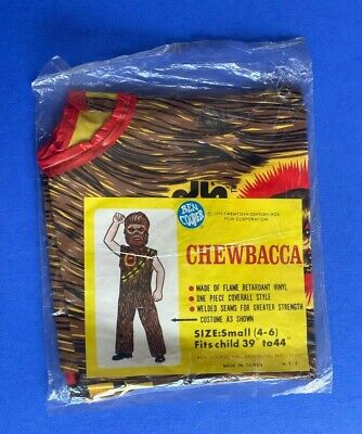 Vintage Star Wars Chewbacca Costume - New in Bag - Ben Cooper
