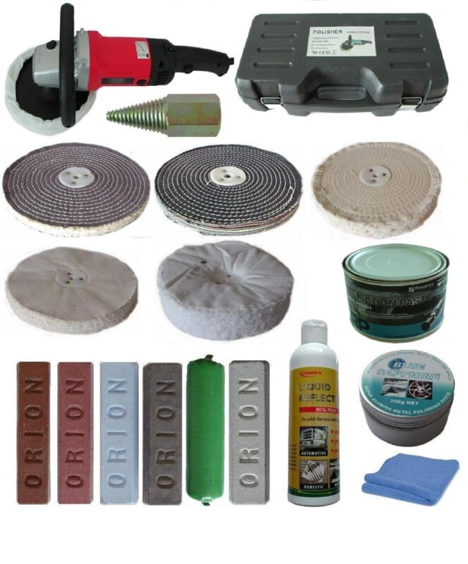 Variable Speed metal Polishing Kit