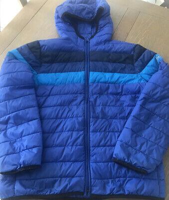 Gap Boy's Puffer Hooded Coat Blue/Navy Size XXL 12 Yrs